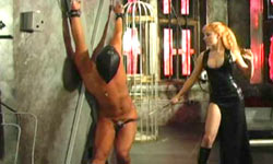 Mistress whipping sub